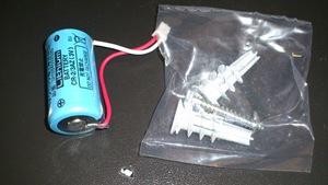 Panasonic けむり当番 薄型 2種 電池式・ワイヤレス連動親器 子器セット1台 SH6902Pのリチウム電池