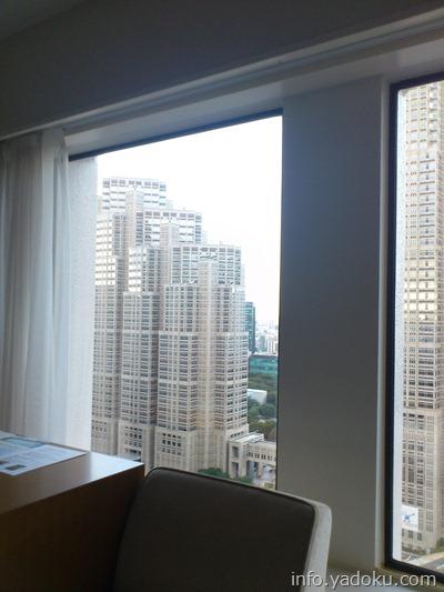 京王プラザホテルの部屋からの眺め