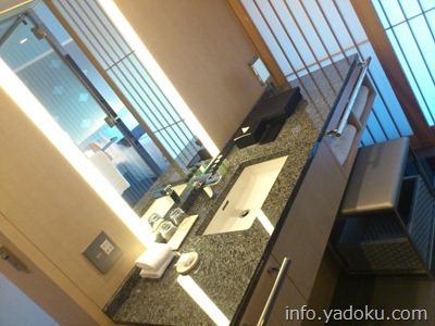 ザ・キャピトルホテル東急の洗面台