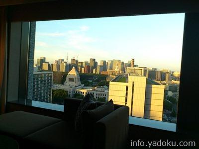 ザ・キャピトルホテル東急から見える国会議事堂