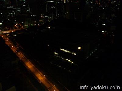 ザ・キャピトルホテル東急から見える夜の首相官邸
