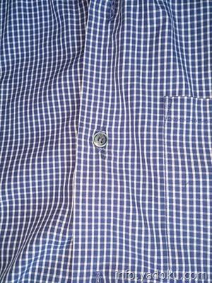 シャツのボタン交換