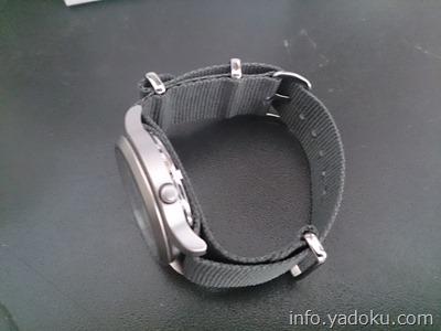 セイコー5に取り付けたNATOタイプの時計バンド