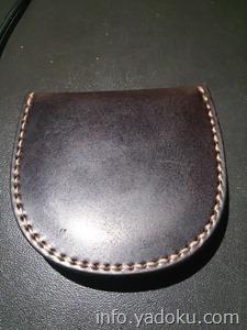 艶がなくなったコードバン財布