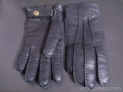 DENTS(デンツ)のカシミアライナー付きディアスキン手袋